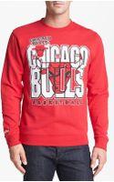 Mitchell & Ness Chicago Bulls Sweatshirt - Lyst