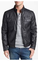 Kenneth Cole Reaction Moto Jacket - Lyst