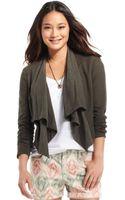 DKNY Linen-blend Mixed-media Blazer - Lyst
