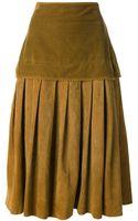Gianni Versace Vintage Pleated Skirt - Lyst