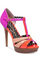 Jessica Simpson Bentley Platform Sandals - Lyst