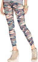 Material Girl Skinny Leg Printed Pants - Lyst