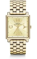 Marc By Marc Jacobs Goldtone Stainless Steel Square Watch - Lyst