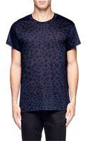 Acne Studios Leopard Print T-Shirt - Lyst