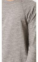 Rag & Bone Long Sleeve Raglan Tshirt - Lyst