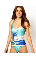 We Are Handsome The Hideaway One Piece Swimsuit - Lyst