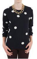 Chinti & Parker Polka Dot Sweater - Lyst