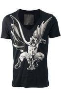 Philipp Plein Printed T-shirt - Lyst
