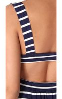 Rachel Pally Stripe Cutout Dress - Lyst