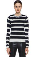 Chloé Striped Sweater - Lyst