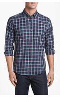 Cutter & Buck Maple Ridge Plaid Regular Fit Sport Shirt - Lyst