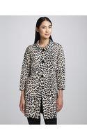Kate Spade Franny Animalprint Coat - Lyst