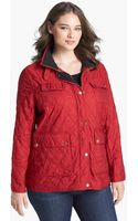 London Fog Fleece Lined Quilted Jacket - Lyst