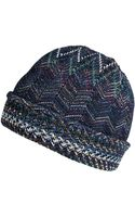 Missoni Wool Blend Knit Hat - Lyst