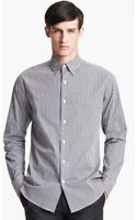 Theory Sylvain Amicable Trim Fit Sport Shirt - Lyst