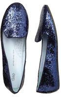 Gap Glitter Loafers - Lyst