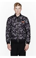 Adidas Originals x Opening Ceremony Grey Quilted Rock Climbing Bomber Jacket - Lyst
