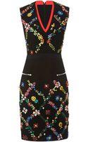 Preen By Thorton Bregazzi Avalon Crystal Embellished Dress - Lyst