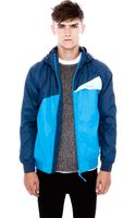 Pull&Bear Jacket with Hood - Lyst