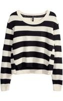 H&M Knitted Jumper - Lyst