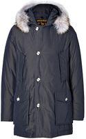 Woolrich Byrd Cloth Artic Parka in Blue Navy - Lyst