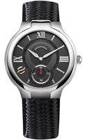 Philip Stein Stainless Steel Leather Strap Watch - Lyst