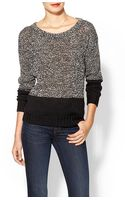 French Connection Slub Speckle Sweater - Lyst