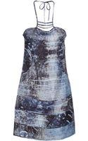 Ermanno Ermanno Scervino Short Dress - Lyst