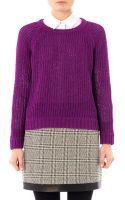 Rag & Bone Kendall Cotton Sweater - Lyst