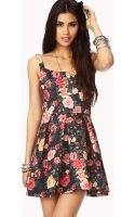 Forever 21 Garden Party Aline Dress - Lyst