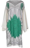 JC de Castelbajac Kneelength Dress - Lyst