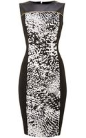 Episode Printed Ponte Dress - Lyst
