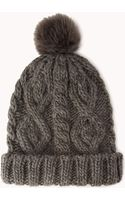 Forever 21 Classic Pom Beanie - Lyst