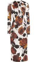 Emilia Wickstead Darcy Printed Silk-organza Dress - Lyst