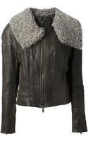 Haider Ackermann Leather Jacket - Lyst