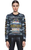 Kenzo Embroidered Sweatshirt - Lyst