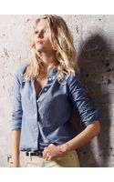 Victoria's Secret Chambray Dot Shirt - Lyst