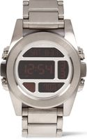 Nixon Unit Stainless Steel Digital Watch - Lyst