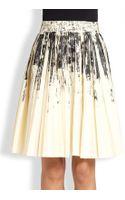 Bottega Veneta Printed Detail Skirt - Lyst