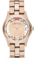 Marc By Marc Jacobs Rivera Carousel Rose Gold Tone Watch 40mm - Lyst