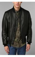 Urban Outfitters Schott Ma1 Bomber Leather Jacket - Lyst