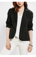 Urban Outfitters Sparkle Fade Ponte Knit Blazer - Lyst