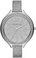 Michael Kors Midsize Slim Runway Glitz Watch 43mm - Lyst