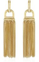 Rachel Zoe Pave Tassel Earrings - Lyst