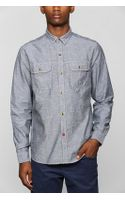 Urban Outfitters Cpo Chambray Button Down Work Shirt - Lyst