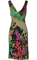 Alberta Ferretti Kneelength Dress - Lyst
