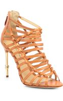 Alexandre Birman Strappy Leather Sandals - Lyst