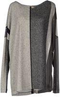 Class Roberto Cavalli Long Sleeve Sweater - Lyst
