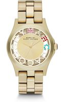 Marc By Marc Jacobs Crystal Goldtone Stainless Steel Watch - Lyst