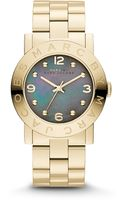 Marc By Marc Jacobs Goldtone Stainless Steel Logo Watch - Lyst